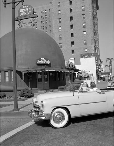 Sid Avery Hollywood and Los Angeles Landmark Brown Derby