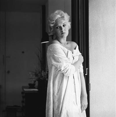 Sid Avery Kim Novak at Home in Los Angeles