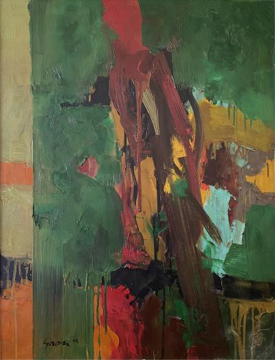 Sidney Gross Archimage on Green