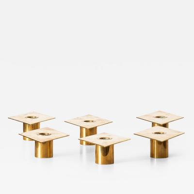 Sigurd Persson Sigurd Persson Candlesticks Model Rhomb Produced by Sigurd Persson Design