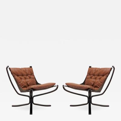 Sigurd Ressell Falcon Chairs by Sigurd Resell for Vatne M bler