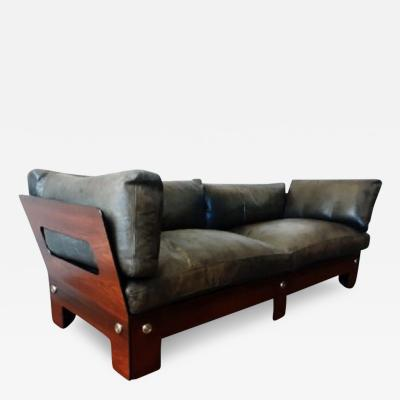 Sigurd Ressell Mid Century Rosewood Sofa By Sigurd Ressell For Vatne Mobler