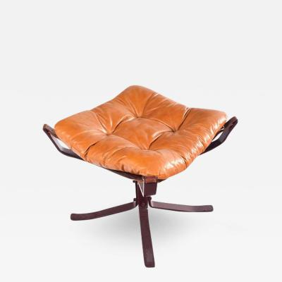 Sigurd Ressell Midcentury Danish Falcon Footstool by Sigurd Ressell