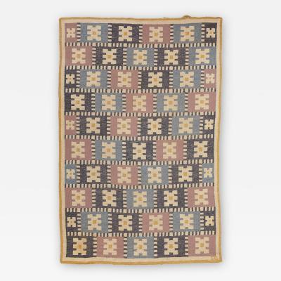 Sigvard Bernadotte Sigvard Bernadotte carpet Vitsippa Sweden 1940s 1950s