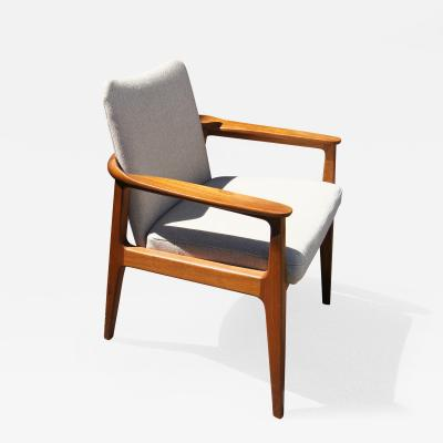 Sigvard Bernadotte Teak Armchair by Sigvard Bernadotte for France Son