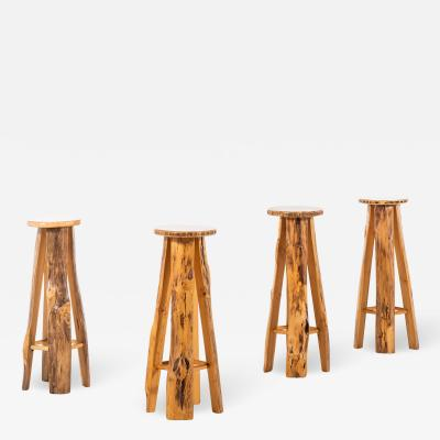 Sigvard Nilsson Bar Stools Produced by S we