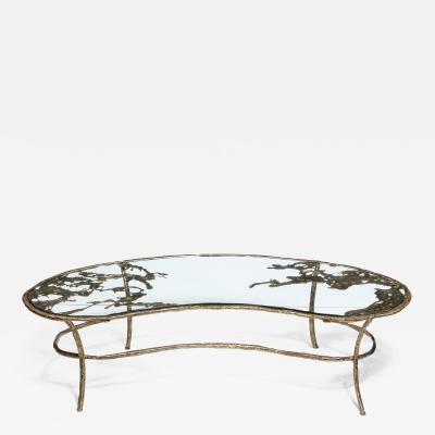 Silas Seandel BF O Kidney Shaped Coffee Table by Silas Seandel