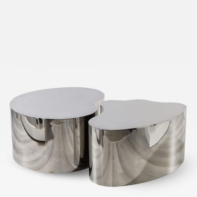 Silas Seandel Bronze Forms 4 Coffee Table