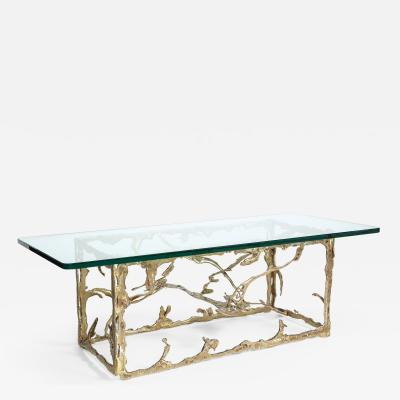 Silas Seandel Bronze Tendrils Coffee Table by Silas Seandel