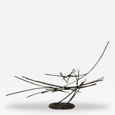 Silas Seandel Metal Free Form Sculpture Silas Seandel