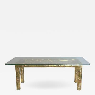 Silas Seandel Signed Silas Seandel Coffee Table