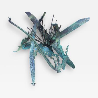 Silas Seandel Silas Seandel Brutalist or Torch Cut Table Sculpture