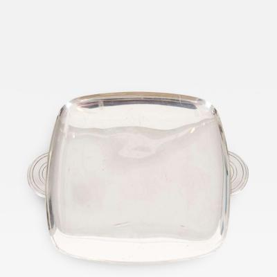 Silver Plate Serving Tray by Tommi Parzinger for Dorlyn