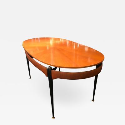 Silvio Cavatorta Silvio Cavatorta Mid Century Modern Rosewood Italian Dining Table circa 1950