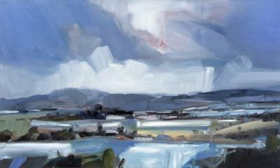 Simon Andrew Long Mountain Landscape
