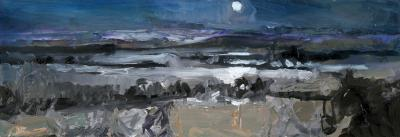 Simon Andrew Nocturnal Winter Landscape