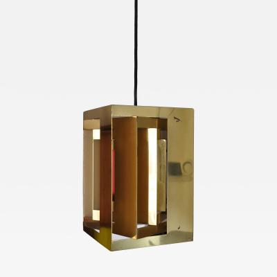 Simon Henningsen Simon Henningsen Cube Pendant Lamp Denmark 1960s