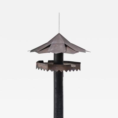 Simon Henningsen Simon Henningsen metal bird feeding house