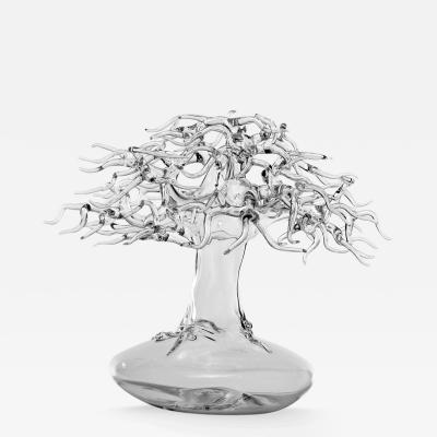 Simone Crestani Bonsai 17 S001 Glass Sculpture