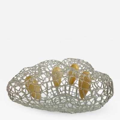 Simone Crestani Yellow Net Vase