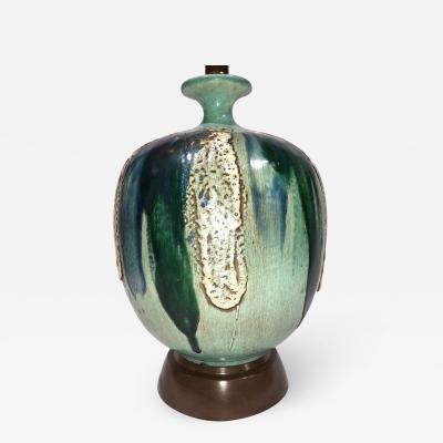 Single Glazed Ceramic Table Lamp