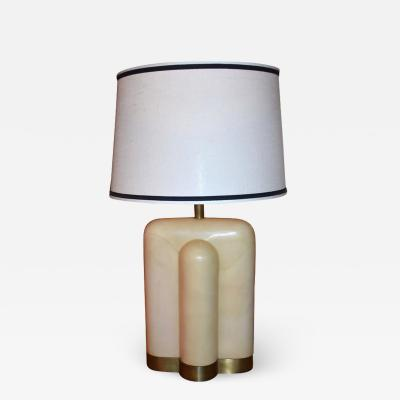 Single Parchment Table Lamp