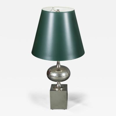 Single Philippe Barbier Nickel Lamp