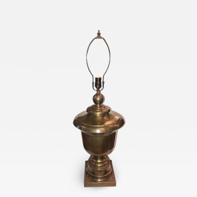 Single large Brass Table Lamp