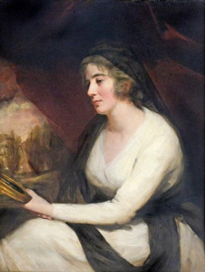 Sir Henry Raeburn Raeburn Portrait of Mrs Johnston