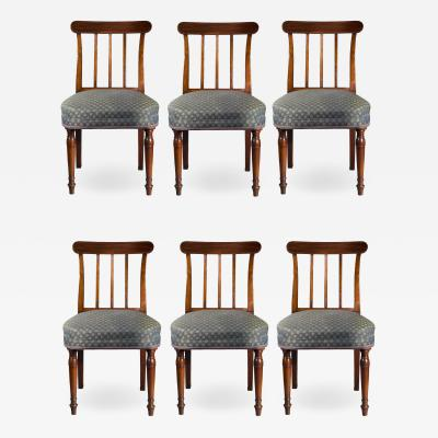 Sir John Soane Set of Six George III Regency Dining Chairs
