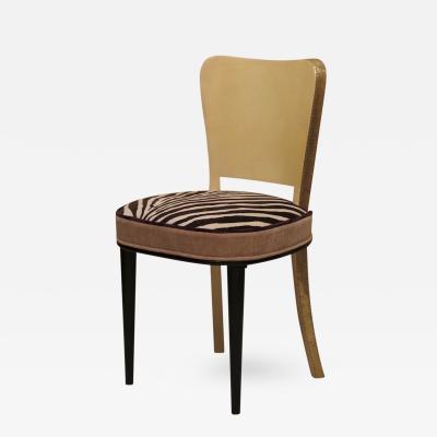 Six Art Deco Chairs Italy 1940s