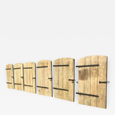 Six Barn Doors