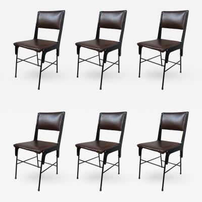 Six Chairs Italy 1950