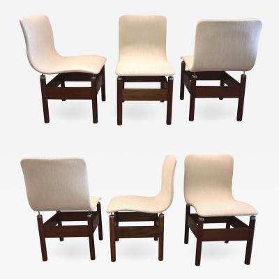 Six Dining Chairs by Vittorio Introini for Saporiti