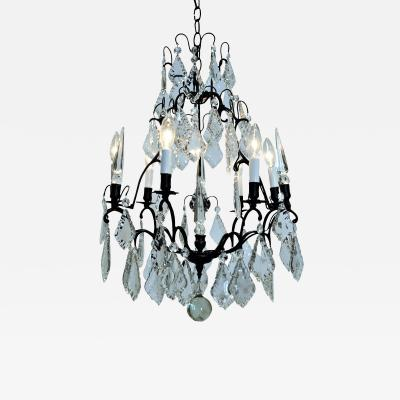Six Light Louis XV Style Chandelier Circa 1960 Western Europe
