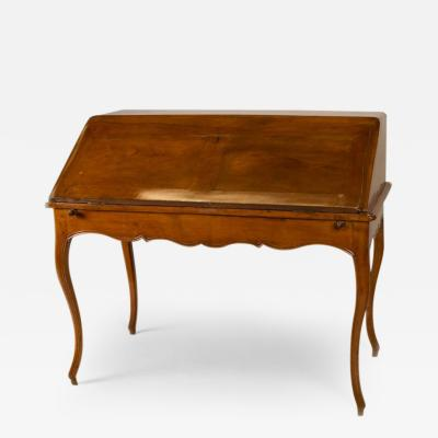 Slant Front Writing Table Desk French circa 1825