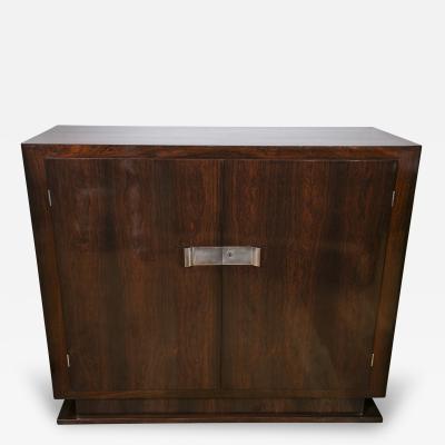Sleek French Moderne Cabinet