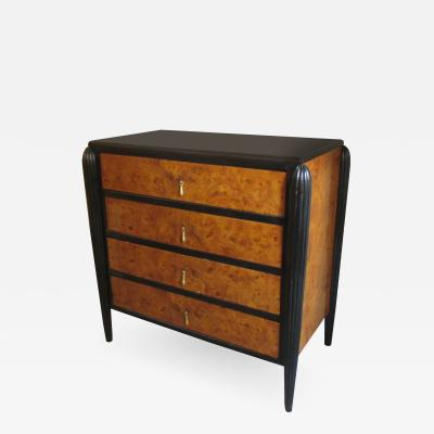 Small Art Deco Four Drawer Chest