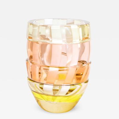 Small Art Glass Vase by Martin Potsch