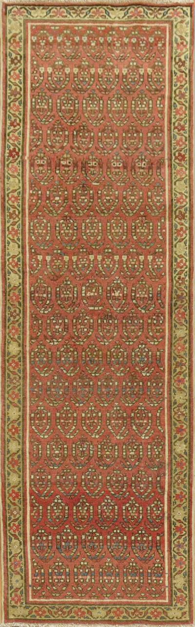 Small Boteh Persian Runner rug no 31272