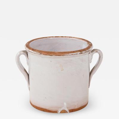 Small Confit pot Terra Cotta Pot with handles