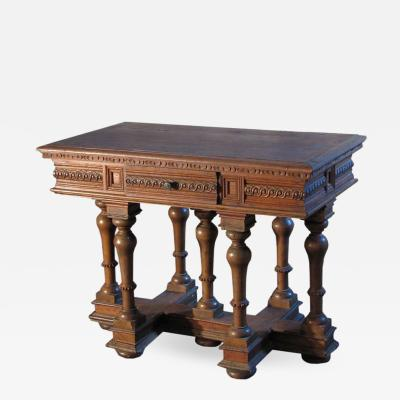 Small French Renaissance style Cross Lorraine Center Table