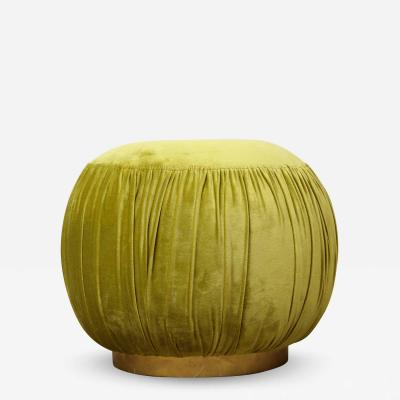 Small Green Pouf