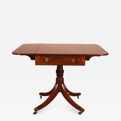 Small Pembroke Table From The Beginning Of The 19th Century In Mahogany