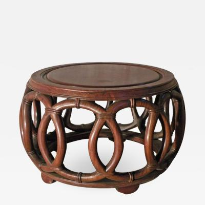 Small Round Chinese Low Table