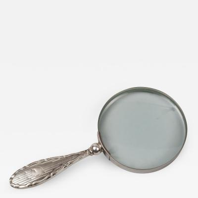 Small Silver Magnifying Glass Hallmarked 1923