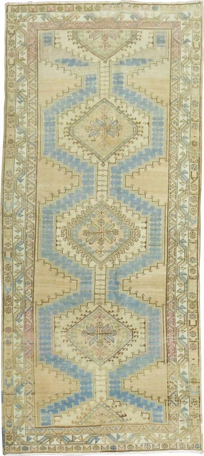 Small Tribal Persian Runner rug no r5032