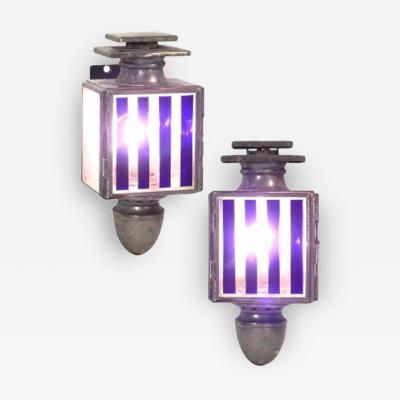 Small Zinc Buggy Lanterns