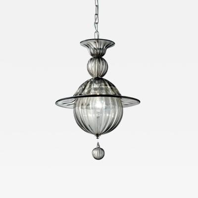 Smokey Murano Glass Pendant Light
