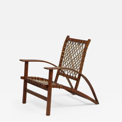 Sno Shu lounge chair designed by architect Carl Koch for Vermont Tubbs